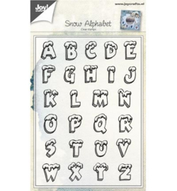 6410/0439 Clearstamp Alfabeth - Joy Crafts