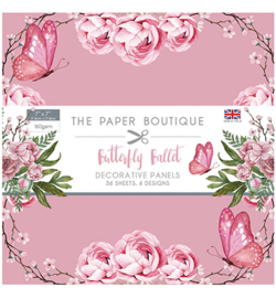 PB1169 Paperpad 18 x 18 cm Butterfly Ballet - The Paper Boutique