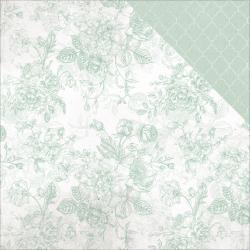 P2314 Scrappapier Dubbelzijdig - Sage & Grace - Kaisercrafts