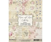 RPP027 Music and Roses 6x6 inch Paperpack - Reprint
