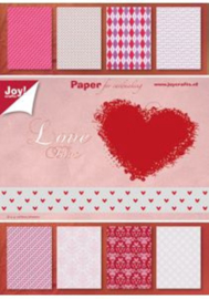 6011/0082 Paperpad A5 a 32 vel - Joy Crafts