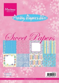PB9065 Paperpad A5 - Sweet Papers - Marianne Design
