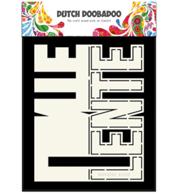 470.713.663 Card Art Stencil A5 - Lente - Dutch Doobadoo