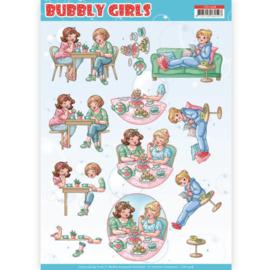 CD11308 3D vel A4 - Bubbly Girls - Yvonne Design