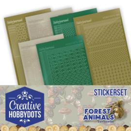 CHSTS012 Stickers bij Creative Hobbydots - Forest Animals - Amy Design