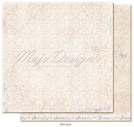 1031 Scrappapier dubbelzijdig - Denim en Girls - Maja Design
