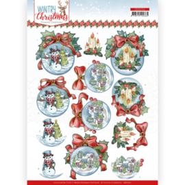 CD11711 3D vel A4 - Wintery Christmas - Yvonne Design