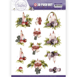 SB10561 Stansvel 3D A4 - The Best Christmas Ever - Marieke Design