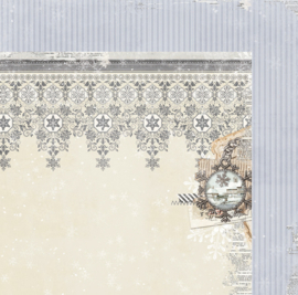 20901829 Scrappapier dubbelzijdig - Winter Wishes - Bo Bunny