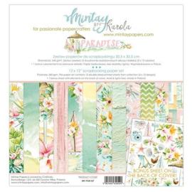 Paperpad 30.5x30.5cm - Paradise - Mintay  * PAKKETPOST *