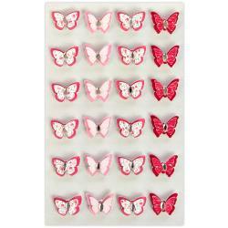 594145 Vlindertjes - 24 stuks - Prima Marketing