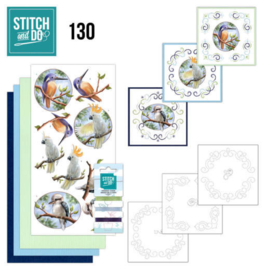 Stitch and do nr. 130 - Vogels