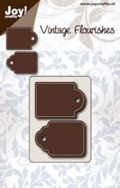 6003/0062 Snij- en embosmal - Joy Crafts