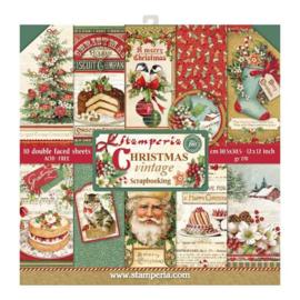 Paperpad 30.5 x 30.5 cm Christmas Vintage - Stamperia