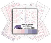 NHHP311 Paperpad 6x6 inch One Girl- NHH Design