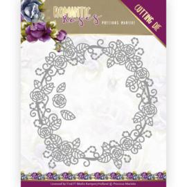 PM10195 Snij- en embosmal - Romantic Roses - Marieke Design