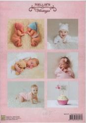 NEVI075 Knipvel A4 - Geboorte - Nellie Snellen