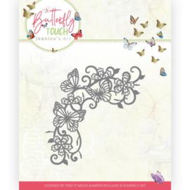 JAD10124 Snij- en embosmal - Butterfly Touch - Jeanine's Art