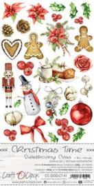 Craft O' Clock - Christmas Time - Extra's to cut set