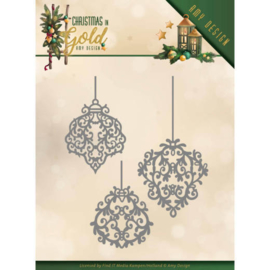 ADD10184 Snij- en embosmal - Christmas Gold - Amy Design