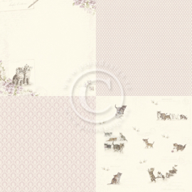 PD13001 Scrappapier - Our Furry Friends - Pion Design