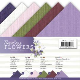 PMA510017 Karton A5 - Timeless Flowers - Marieke Design