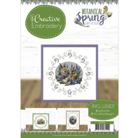 CB10012 Creative Embrodery - Botanical Spring - Amy Design