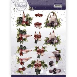 CD11679 3D vel A4 - The Best Christmas Ever - Marieke Design