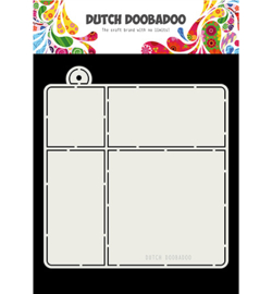 470.713.839 Dutch Card Art A4 Envelop - Dutch Doobadoo