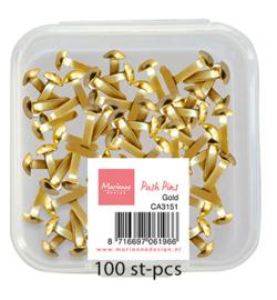 CA3151 Push Pins - Gold - Marianne Design