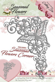 PM10085 Snij- en embosmal - Seasonal Flowers - Marieke Design