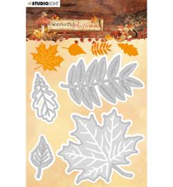STENCILWA308 Snij- en embos stencil - Wonderful Autumn - Studio Light