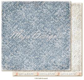 1105 Scrappapier dubbelzijdig - Miles Apart - Maja Design