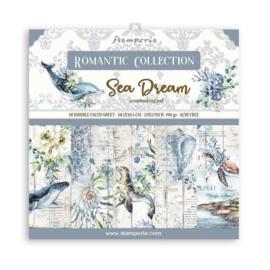 Paperpad 30.5 x 30.5cm -  Romantic  Sea Dream - Stamperia - PAKKETPOST!