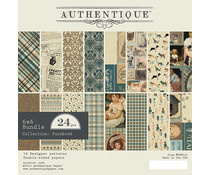 PUR010 Paperpad 6x6inch - Purebred - Authentique