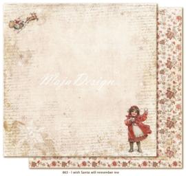 863 Scrappapier dubbelzijdig - I Wish - Maja Design