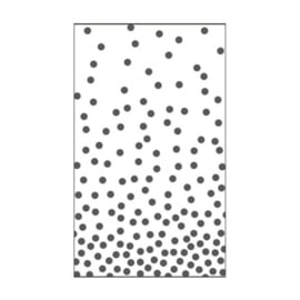 "100604-112 Dots Embossingstencil 3x5""- Vaessen"