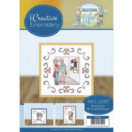 CB10009 Creative Embrodery  - Active Life - Yvonne Creations