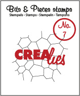 Bits & Pieces Clearstempel no. 07 - Crealies