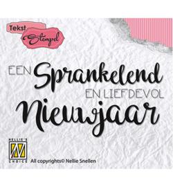 DTCS008 Clearstempel Nederlandse tekst - Nellie Snellen