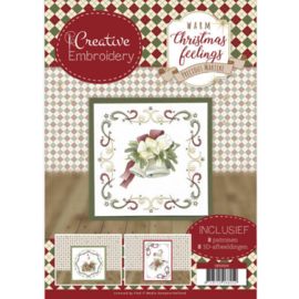 CB10004  Create Embroidery - Warm Christmas Feelings - Marieke Design