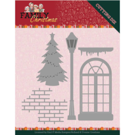 YCD10185 Snij- en embosmal - Family Christmas - Yvonne Creations