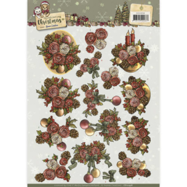 CD10958 3D vel A4 - Celebrate Christmas - Yvonne Creations