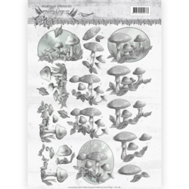 CD11182 3D Knipvel A4 - Words of Sympathy - Amy Design