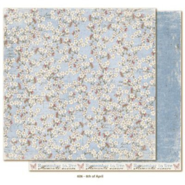 606 Scrappapier dubbelzijdig - Vintage Spring - Maja Design