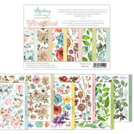 Paperpad 15x20cm - Flora Book - Mintay