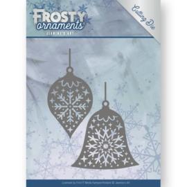 JAD10043 Snij- en embosmal - Frosty Ornaments - Jenine's Art
