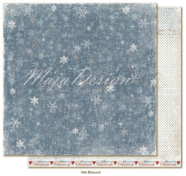 946 Scrappapier dubbelzijdig - Joyous Winterdays - Maja Design