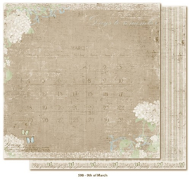 598 Scrappapier dubbelzijdig - Vintage Spring - Maja Design
