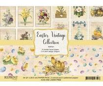 RBP001 Vintage Easter A4 Paperpack - Reprint